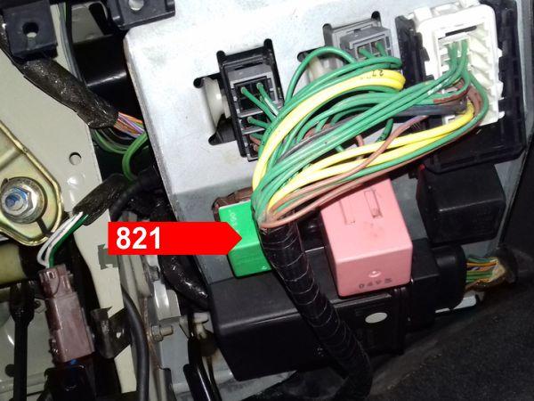 on fan center 821 relay wiring diagram