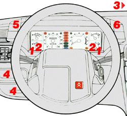 dashboard citro n bx do it yourself rh citroen tramontana co hu Citroen CX Citroen DS 21